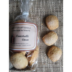Biscuits Canistrellis Citron160 g