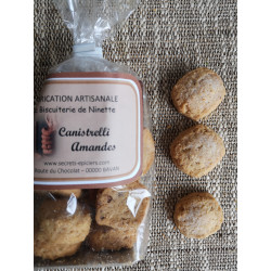 Biscuits Canistrellis Amande 160g