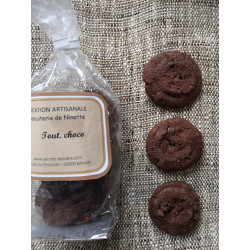 Biscuits traditionnels tout choco coeur fondant 160 g