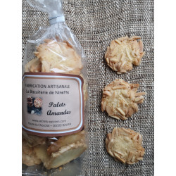 Biscuits Palets Amandes 160 g