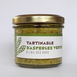 Tartinable Asperges Vertes Ail des Ours 100g