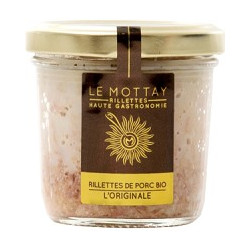Rillettes Pur Porc BIO L'Originale Nature 90g